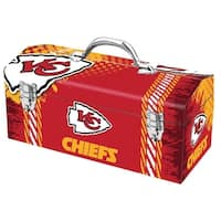 Sainty 79-315 Kansas City Chiefs NFL Tool Box, 10""