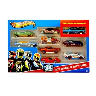 Hot Wheels Car Gift Set - 9 Pack