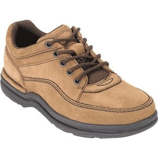 Rockport Men's World Tour Classic Walking Shoe Chocolate Nubuck