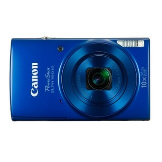 Canon PowerShot ELPH 190 IS 20 MP Digital Camera (Blue)