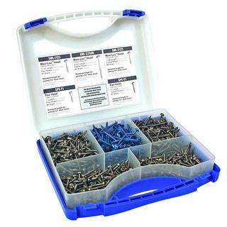 Kreg Pocket-Hole Screw Project Kit in 5 Sizes - Blue