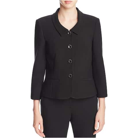 Finity Womens Fitted Four Button Blazer Jacket