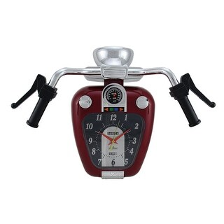 Super Cruiser Motorcycle Wall Clock W/ Sound