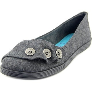 Blowfish Garamel Women Round Toe Canvas Gray Flats