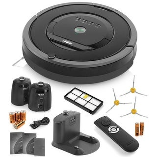 iRobot Roomba 880 Vacuum Cleaning Robot + 2 Virtual Wall Lighthouses + Remote Control + 3 Side Brushes + HEPA Filter + More