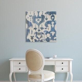 Easy Art Prints Chariklia Zarris's 'Water Ikat I' Premium Canvas Art