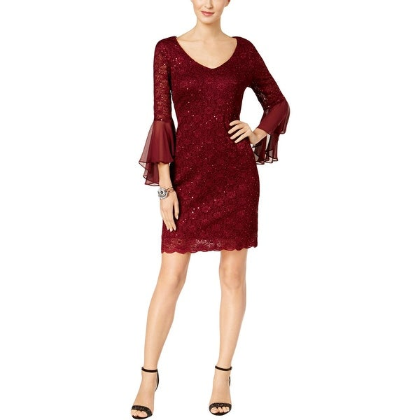 Shop Connected Apparel Womens Cocktail Dress Mini Bell
