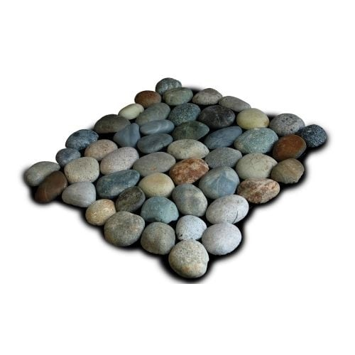 Miseno MT-P3PGO Pebble Natural Stone Mosaic Tile (10.12 SF / Carton) - N/A