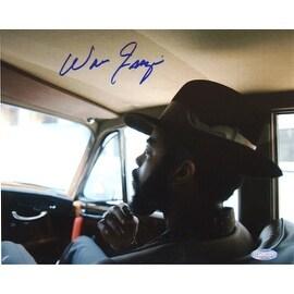 Walt Frazier Sitting in Car Horizontal 16x20 Photo