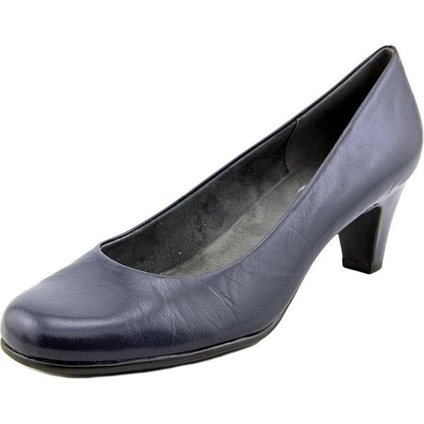 Aerosoles Nice Play Women Round Toe Leather Heels