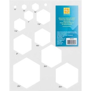 Hexagon Template Sheet-