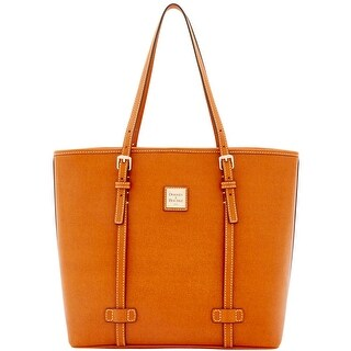 Dooney & Bourke Saffiano East West Shopper (Introduced by Dooney & Bourke at $268 in Sep 2016) - Natural
