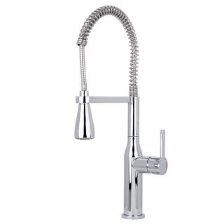 Miseno MK500 Chico Commercial Style Pre-Rinse Kitchen Faucet - Includes Lifetime Warranty and Decorative Deck Plate