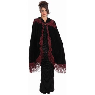 45 Velvet and Lace Victorian Cape