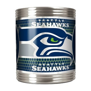 Great American Products Seattle Seahawks Can Holder Stainless Steel Can Holder