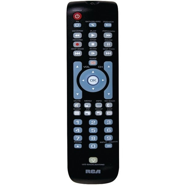 Rca Rcrn03Br 3-Device Backlit Universal Remote
