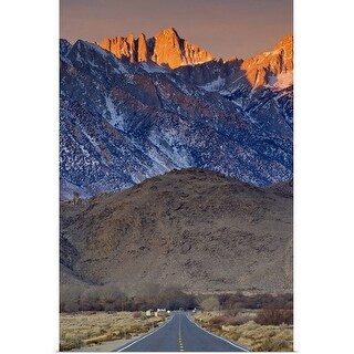"""Mount Whitney in Eastern Sierra Nevada"" Poster Print"