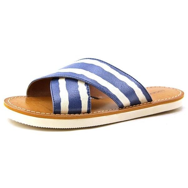Lucky Brand Dadeen 2 Women Open Toe Synthetic Blue Slides Sandal