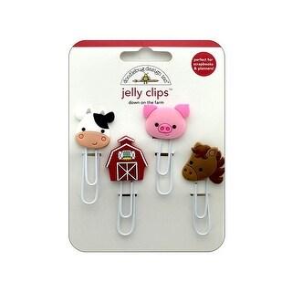 5900 Doodlebug Down On The Farm Jelly Clips Friends