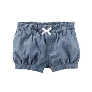 Carter's Baby Girls' Chambray Bubble Shorts