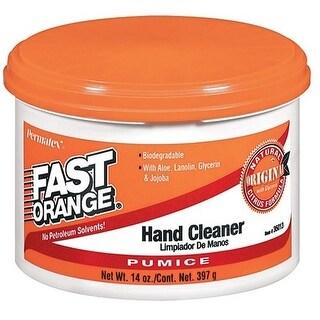 Permatex 35013 Fast Orange Pumice Cream Hand Cleaner, 14 Oz