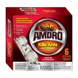 Amdro 100099384 Liquid Ant Bait, 6 / Pack