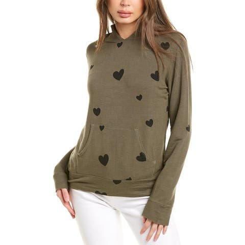 Monrow Scattered Hearts Hoodie