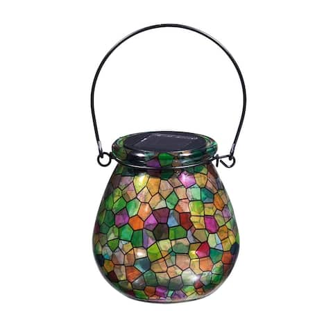 Kaleidoscope of Light, Solar Glass Lanterns