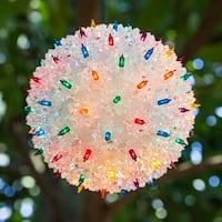 "Wintergreen Lighting 70203 10"" Mega Starlight Sphere with 150 Multicolor Lights - N/A"