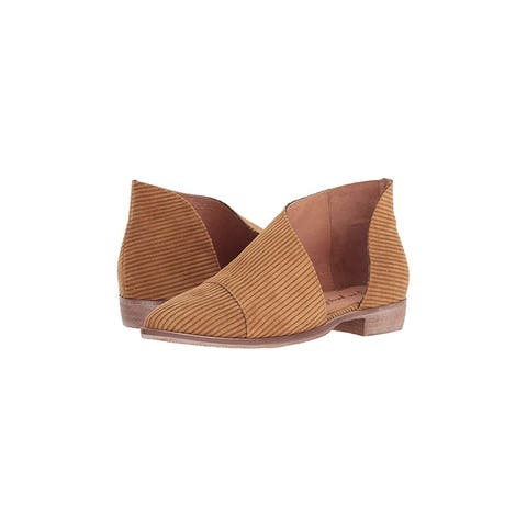 Free People Womens Fabric Royale Fabric Almond Toe Ankle Fashion Boots