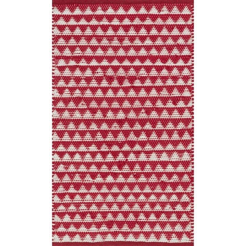 Alexander Home Dakota Hand-Woven Cotton Rug
