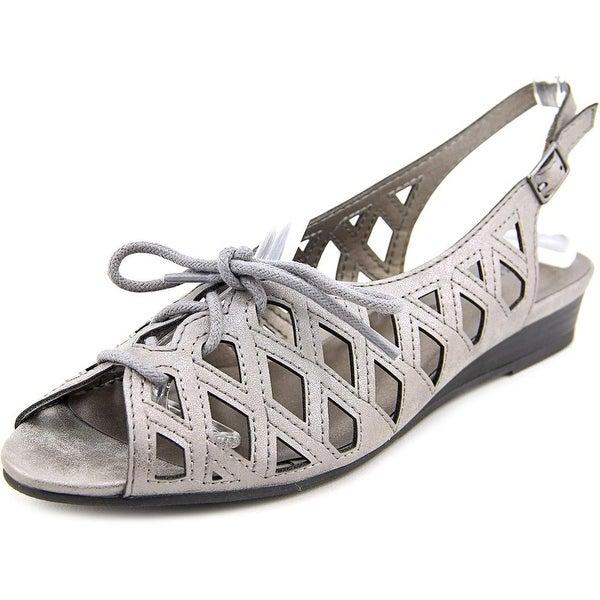 Easy Street Tinker Lace Up Women N/S Open-Toe Synthetic Slingback Sandal