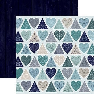 """Chilled - Wonderland Double-Sided Cardstock 12""""X12"""" - 10/Pack"""