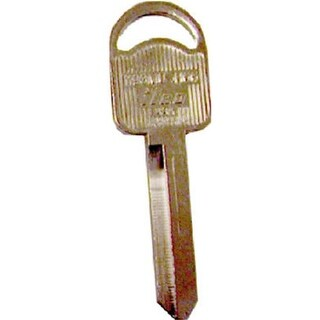H66-1193MU 1 x 0.1 in. Ilco Key Blank For Ignition & Doors, Pac