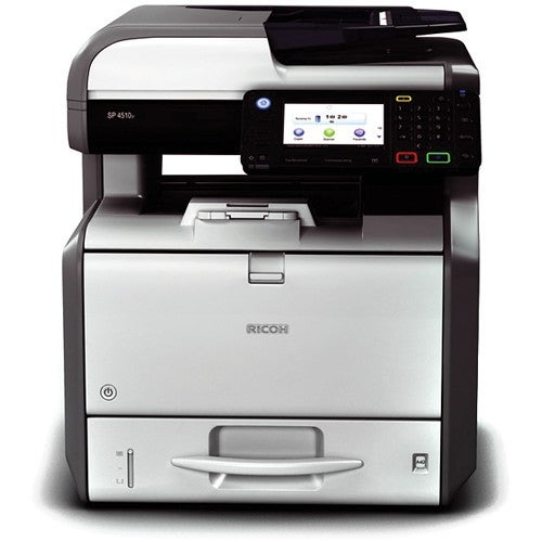 Ricoh Usa - Ricoh Sp4510sf B&W Mfp 42Ppm A4 Desktop With Print,Copy, Color Scan And Fax.Incl