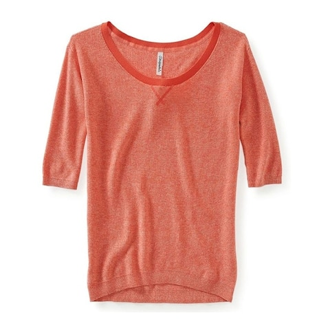 Aeropostale Womens Ribbed Knit Sweater