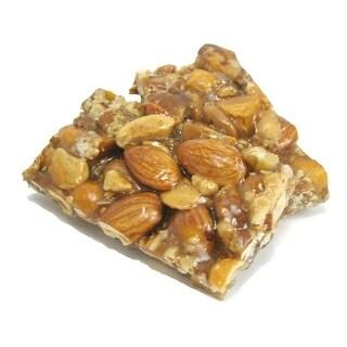 A L Bazzini Bulk Snacks - Peanut Crunch - Case of 10 - 1 lb.
