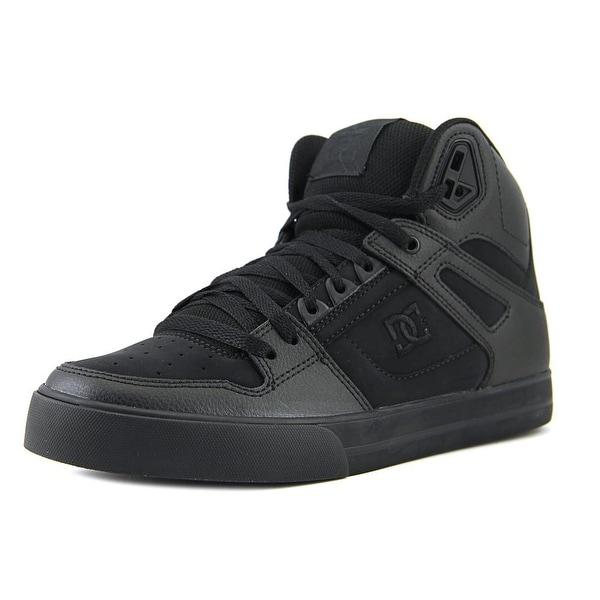 DC Shoes Spartan High WC Black/Black/Black Skateboarding Shoes