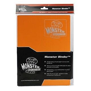 Monster Binder Cards (9), Matte Orange