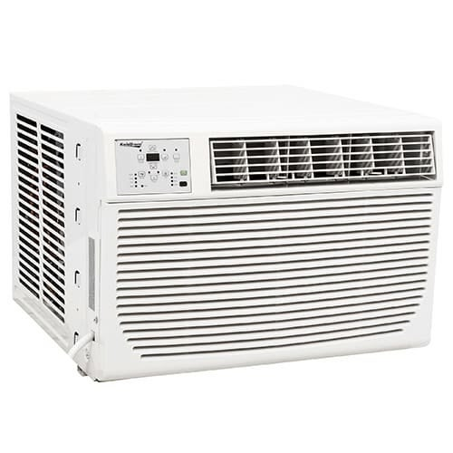 Koldfront WAC12001W 12000 BTU 220V Window Air Conditioner with 11000 BTU Heater and Remote