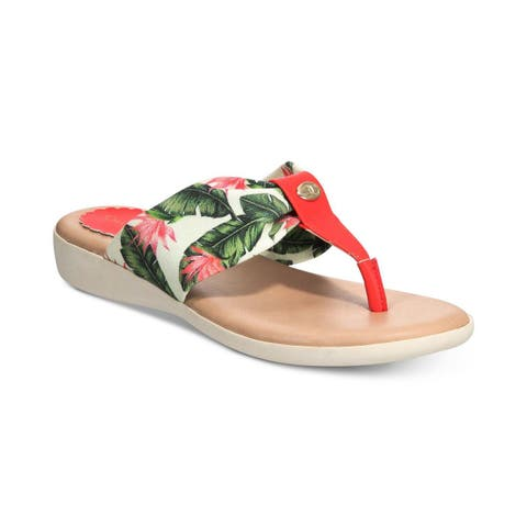e2007242f36f Buy Red, Flip Flops Women's Sandals Online at Overstock | Our Best ...