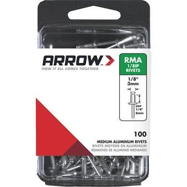 Arrow 1/8X1/4 Alum Rivet