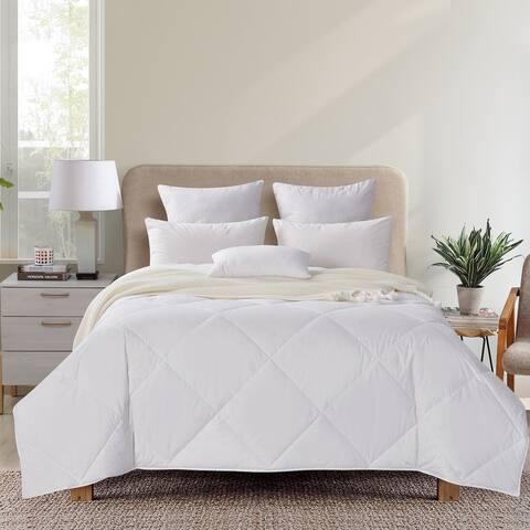 Premium Summer Lightweight Goose Down Filled Duvet Comforter