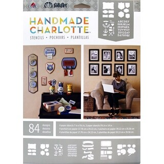 Plaid Handmade Charlotte Paper Stencils, 4365 Labels