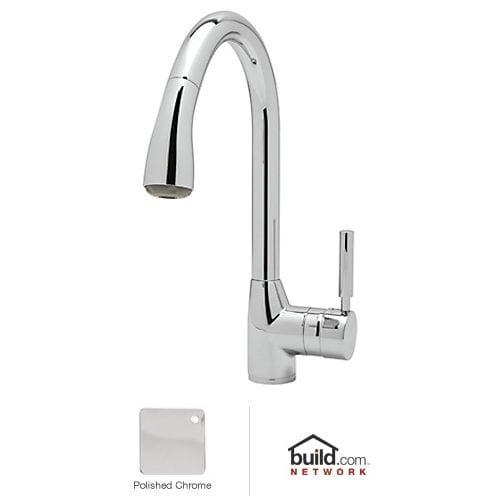 Rohl R7505-2 Lux Pullout Spray Kitchen Faucet
