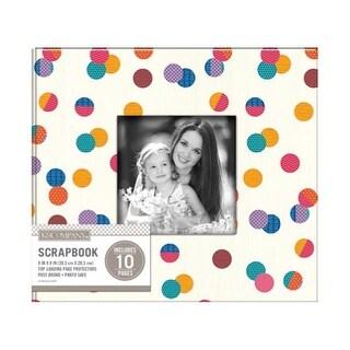 K&Co Scrapbook 8x8 Window Dot Multi