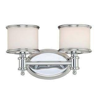 Vaxcel Lighting CR-VLU002 Carlisle 2 Light Bathroom Vanity Light - 13 Inches Wide