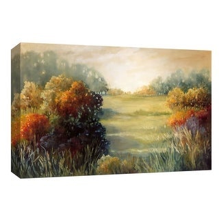 """PTM Images 9-148006  PTM Canvas Collection 8"""" x 10"""" - """"Meadow Twilight"""" Giclee Rural Art Print on Canvas"""