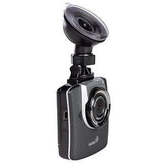 Ivation Dash Cam, 32GB HD 1296p Video, GPS & Audio Recorder, Wide Angle Lens, Motion Detection, G-Sensor