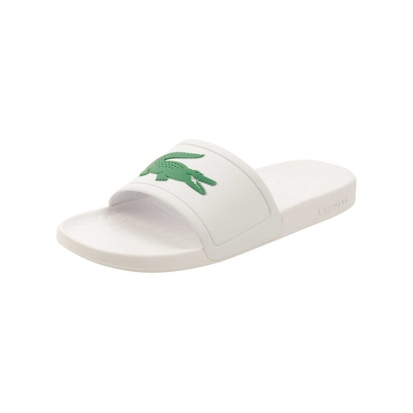 91659de9274bdc Shop Lacoste Women s Fraisier 318 2 Slide Sandal - Free Shipping On ...